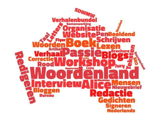 Website woordenland rood